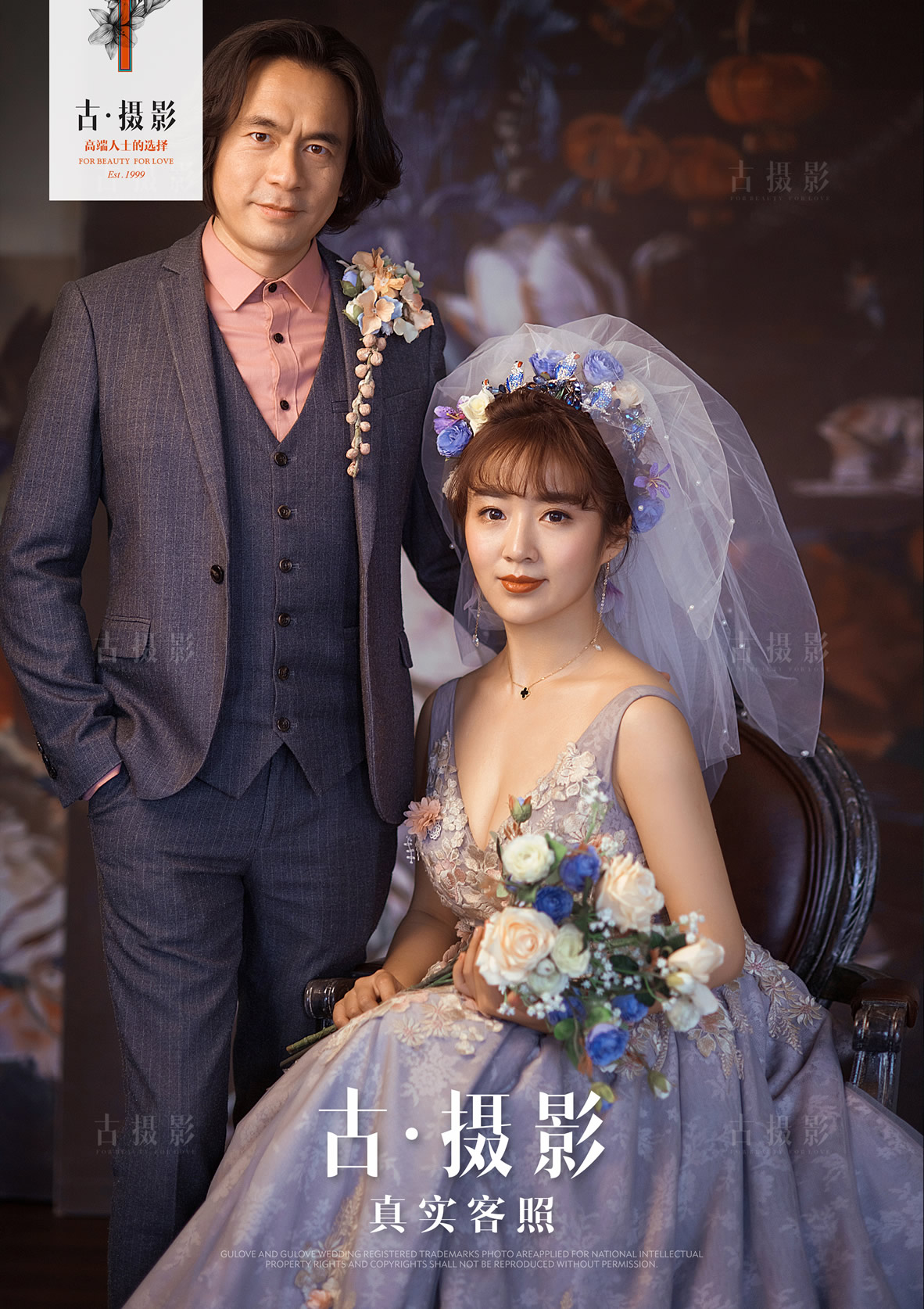 4月24日客片何先生 张小姐 - 每日客照 - 古摄影婚纱艺术-古摄影成都婚纱摄影艺术摄影网