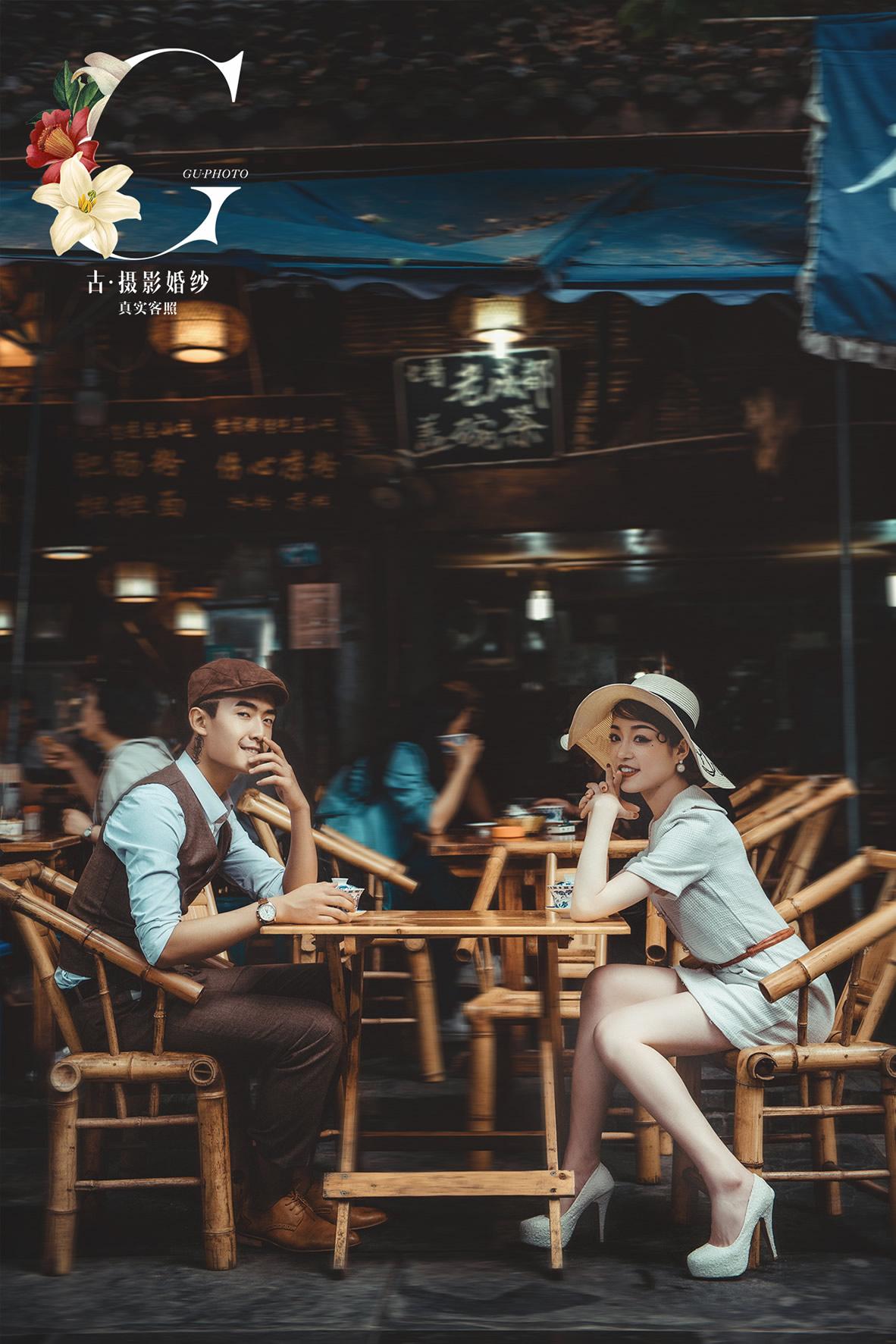 赵先生 麻花小姐 - 每日客照 - 古摄影婚纱艺术-古摄影成都婚纱摄影艺术摄影网