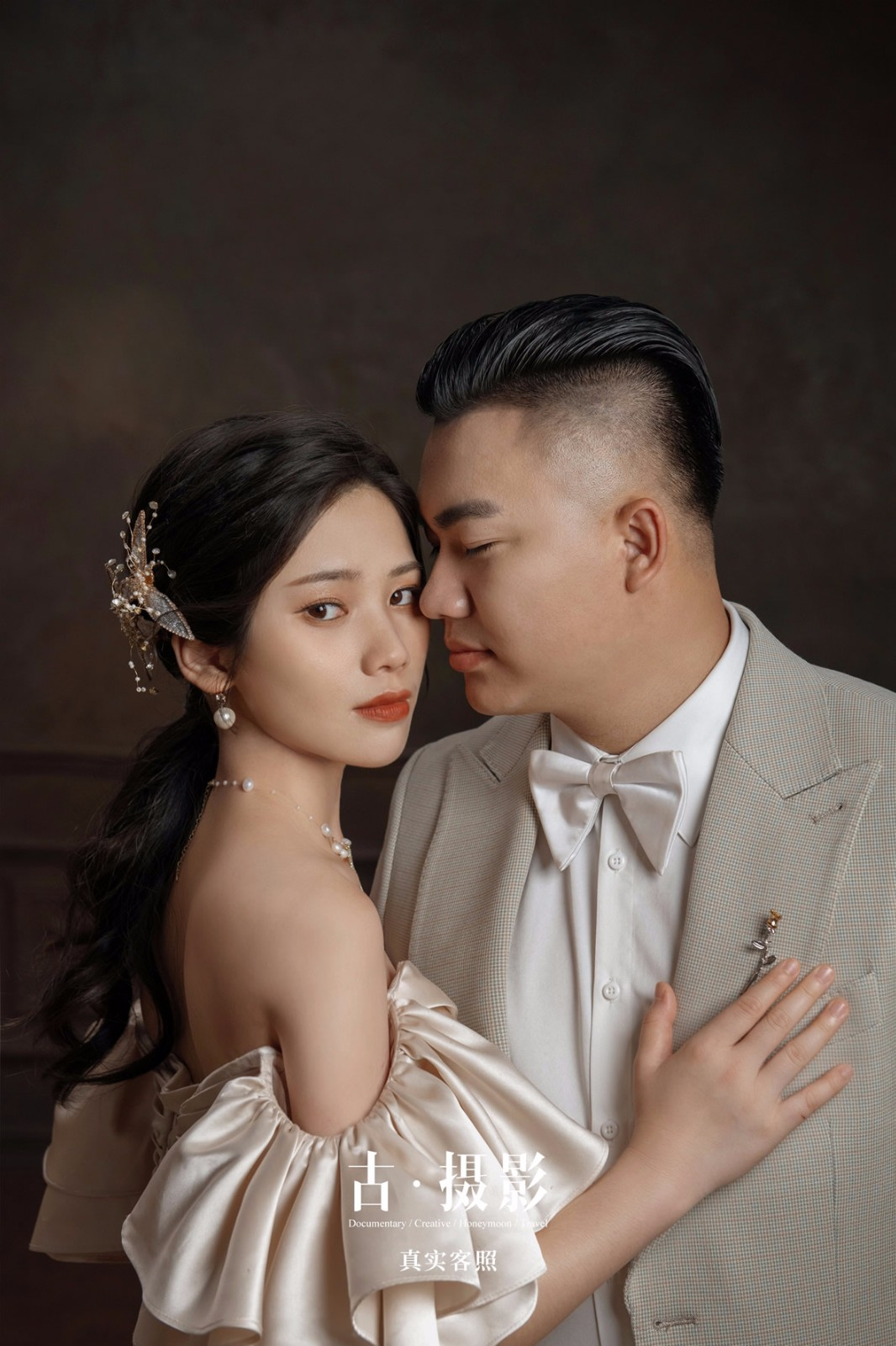 陈先生 官小姐 - 每日客照 - 广州婚纱摄影-广州古摄影官网