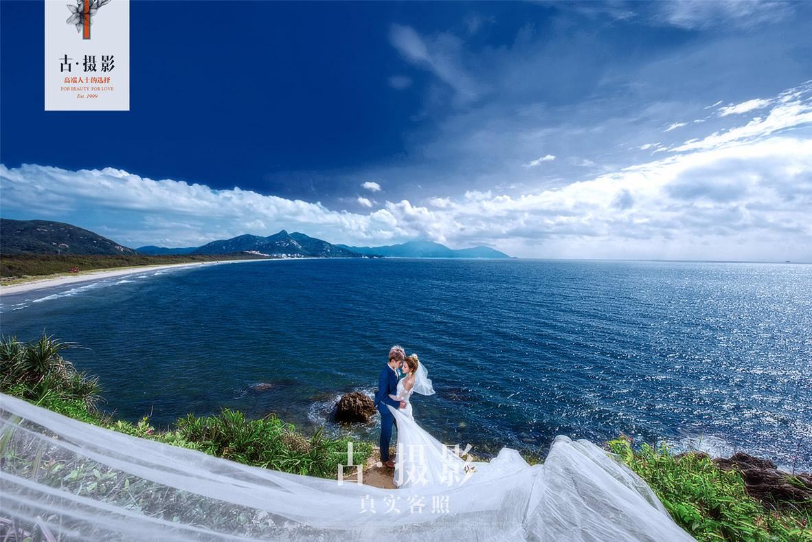 上川岛 - 广州婚纱景点客照 - 广州婚纱摄影-广州古摄影官网