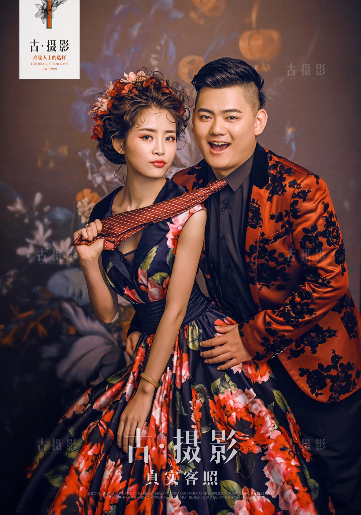5月17日客片张先生 陈小姐 - 每日客照 - 广州婚纱摄影-广州古摄影官网