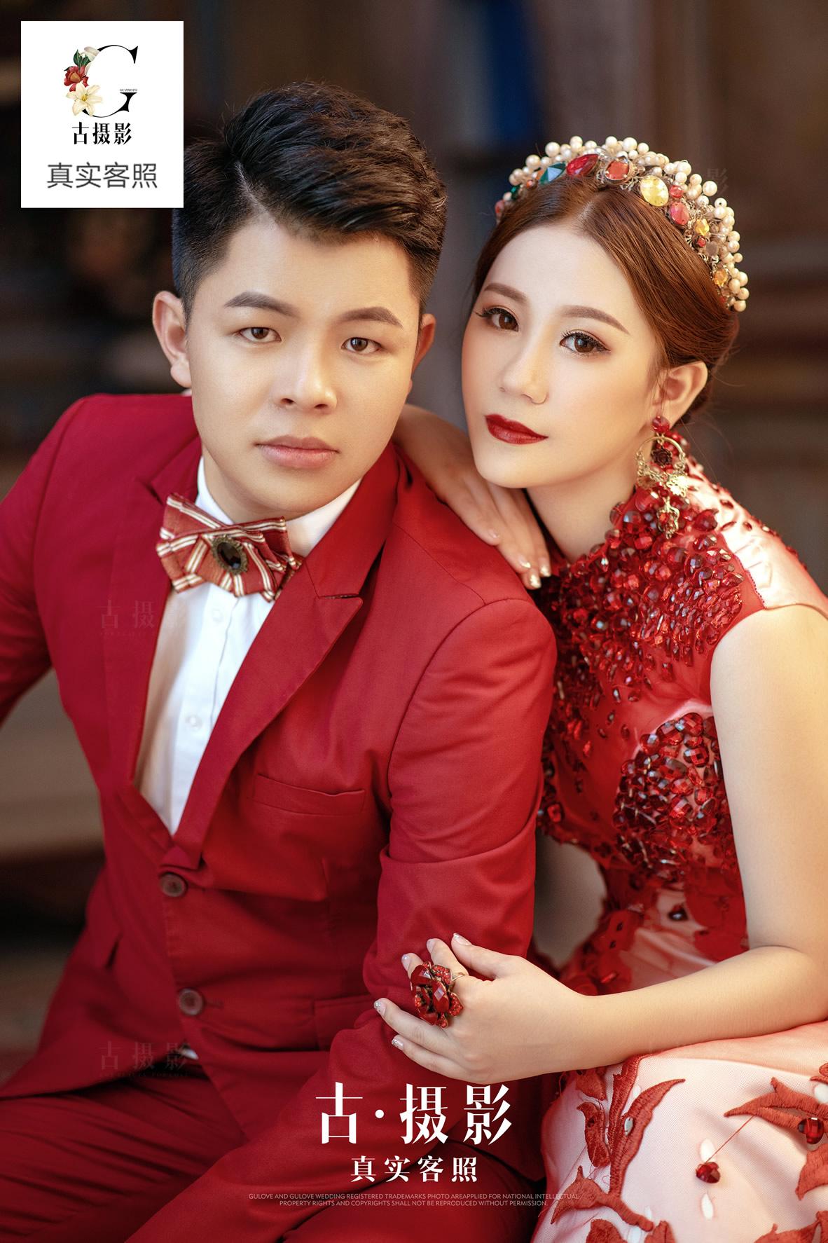 10月22日客片黄先生 辜小姐 - 每日客照 - 广州婚纱摄影-广州古摄影官网