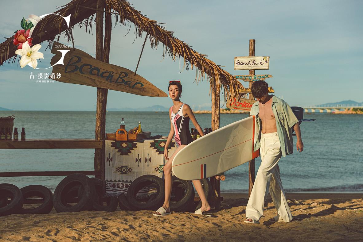 九洲岛《沙滩比基尼》 - 拍摄地 - 广州婚纱摄影-广州古摄影官网
