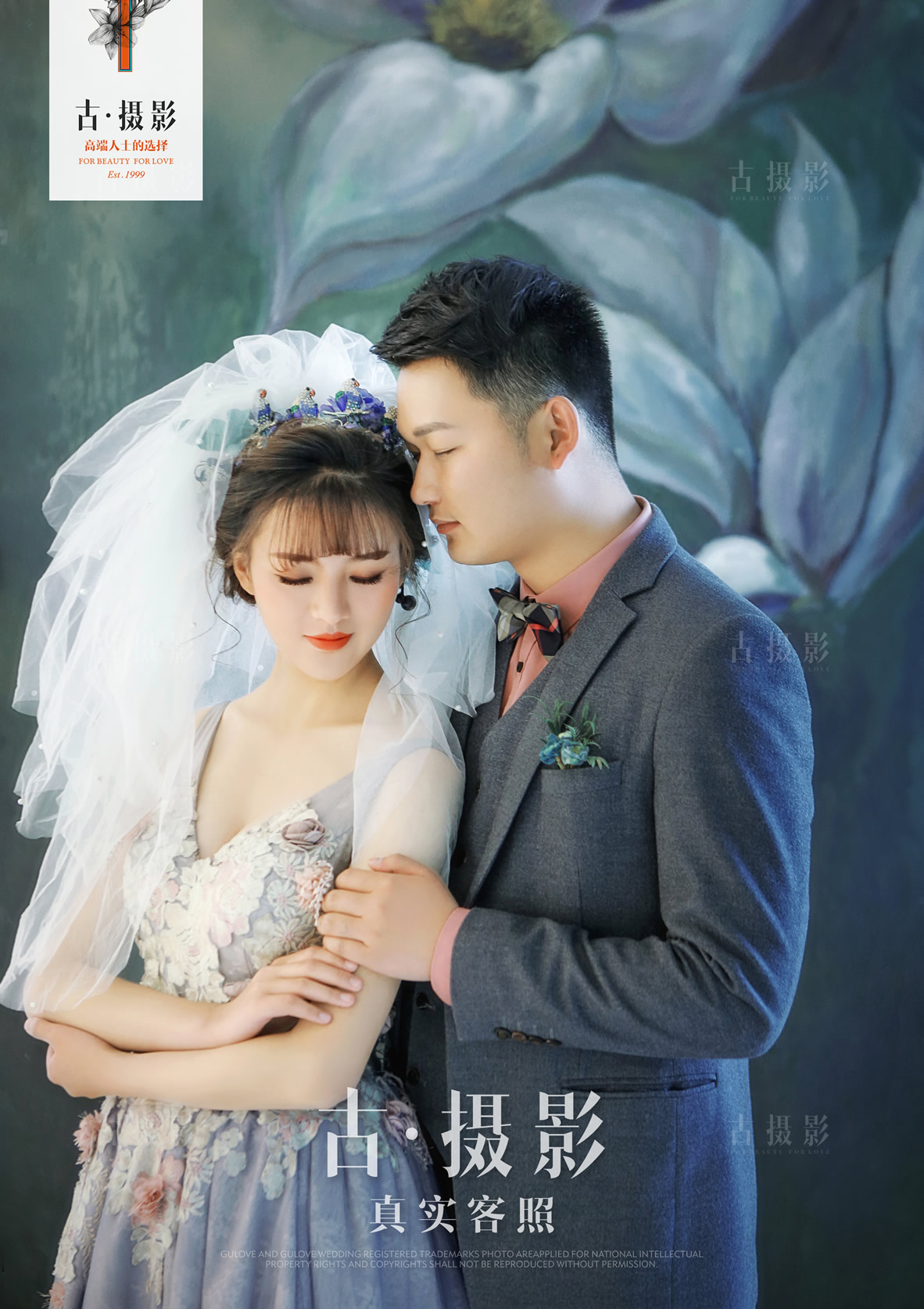 4月15日客片徐先生 杨小姐 - 每日客照 - love昆明古摄影-昆明婚纱摄影网