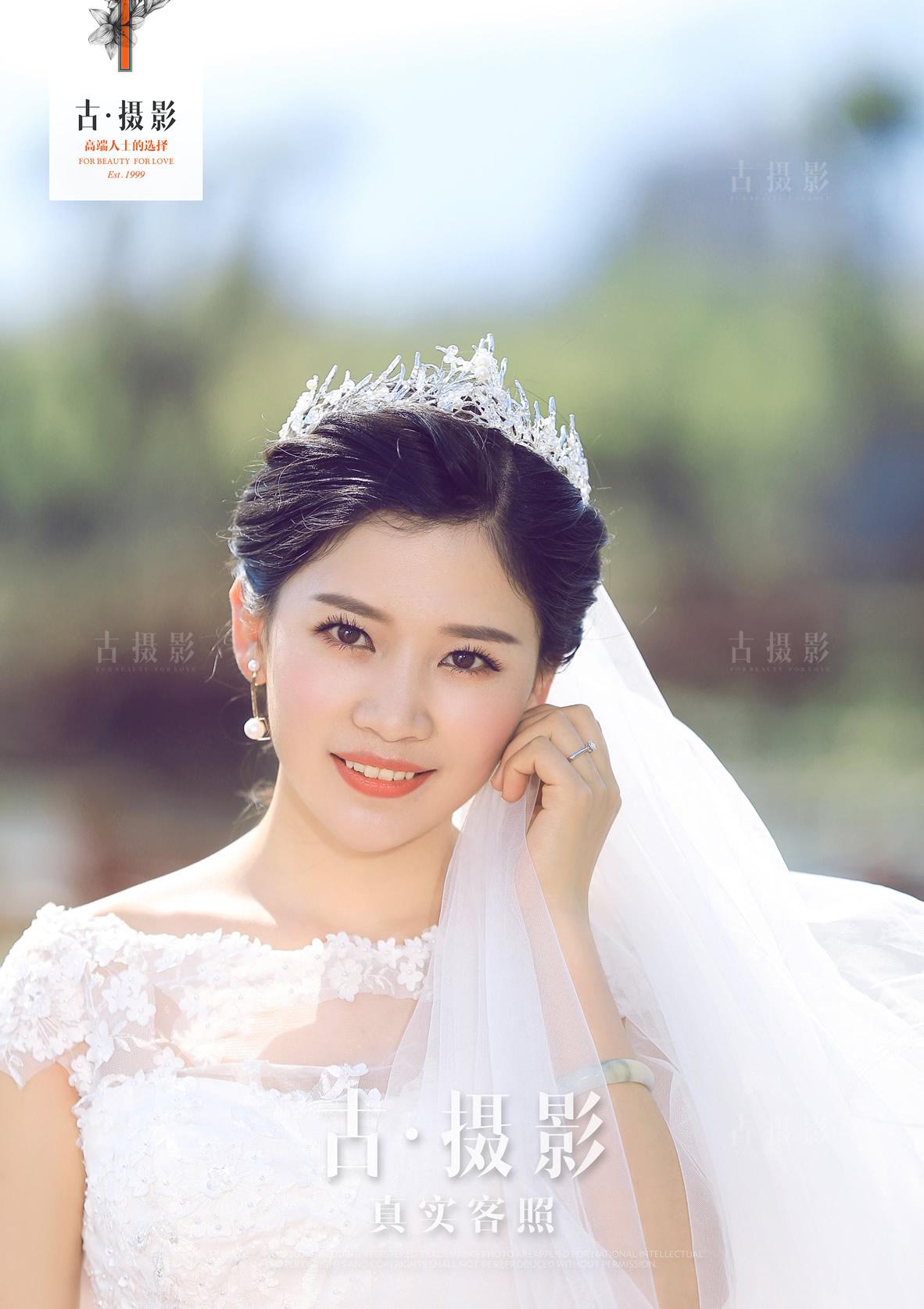 5月14日客片杨先生 张小姐 - 每日客照 - love昆明古摄影-昆明婚纱摄影网