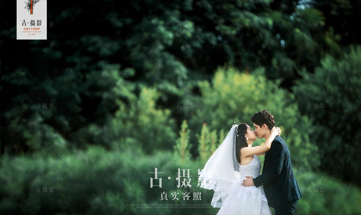 8月18日客片杨先生 严小姐 - 每日客照 - love昆明古摄影-昆明婚纱摄影网