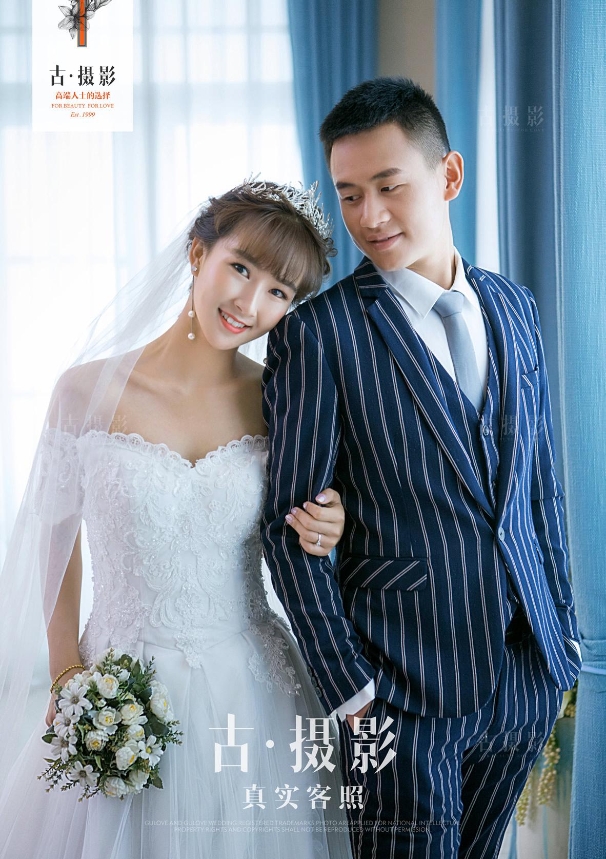 8月17日客片刘先生 王小姐 - 每日客照 - love昆明古摄影-昆明婚纱摄影网