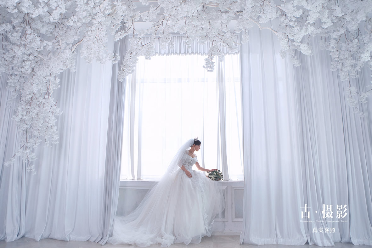 邹先生 张小姐 - 每日客照 - love昆明古摄影-昆明婚纱摄影网