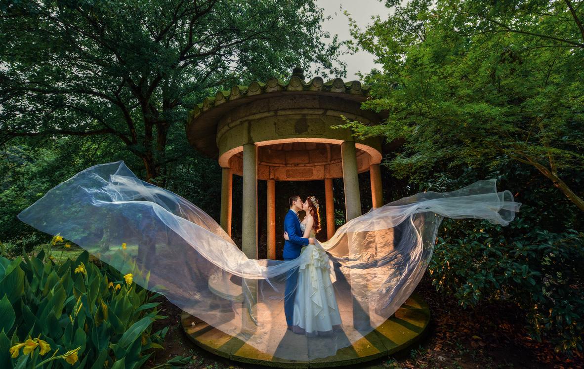 森林公园客照 - 上海婚纱景点客照 - love上海古摄影-上海婚纱摄影网