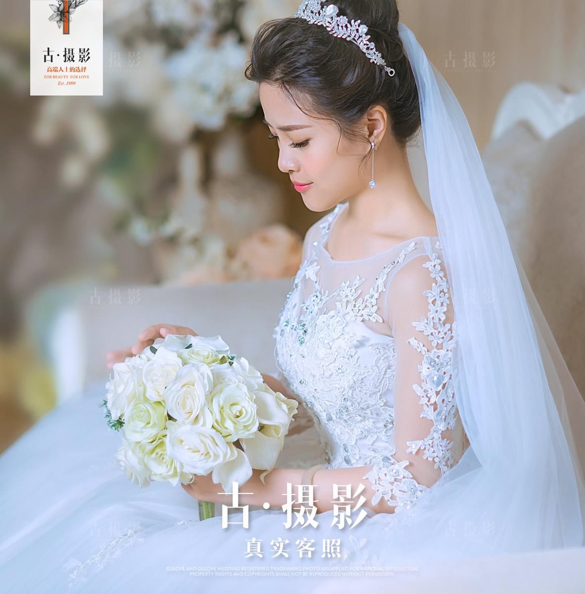 1月8日客片朱先生 彭女士 - 每日客照 - love上海古摄影-上海婚纱摄影网