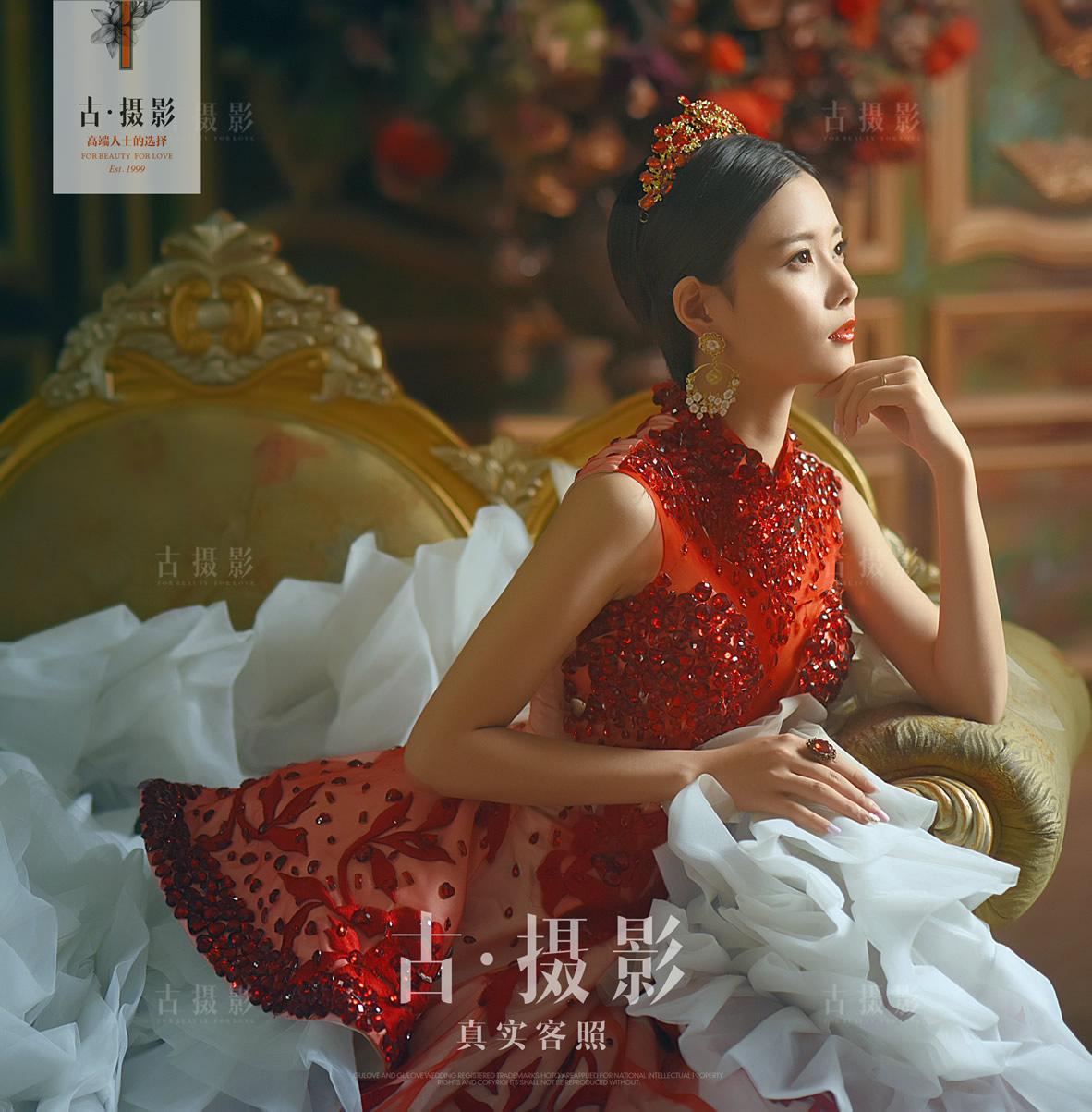 6月24日客片吴先生 黄小姐 - 每日客照 - love上海古摄影-上海婚纱摄影网
