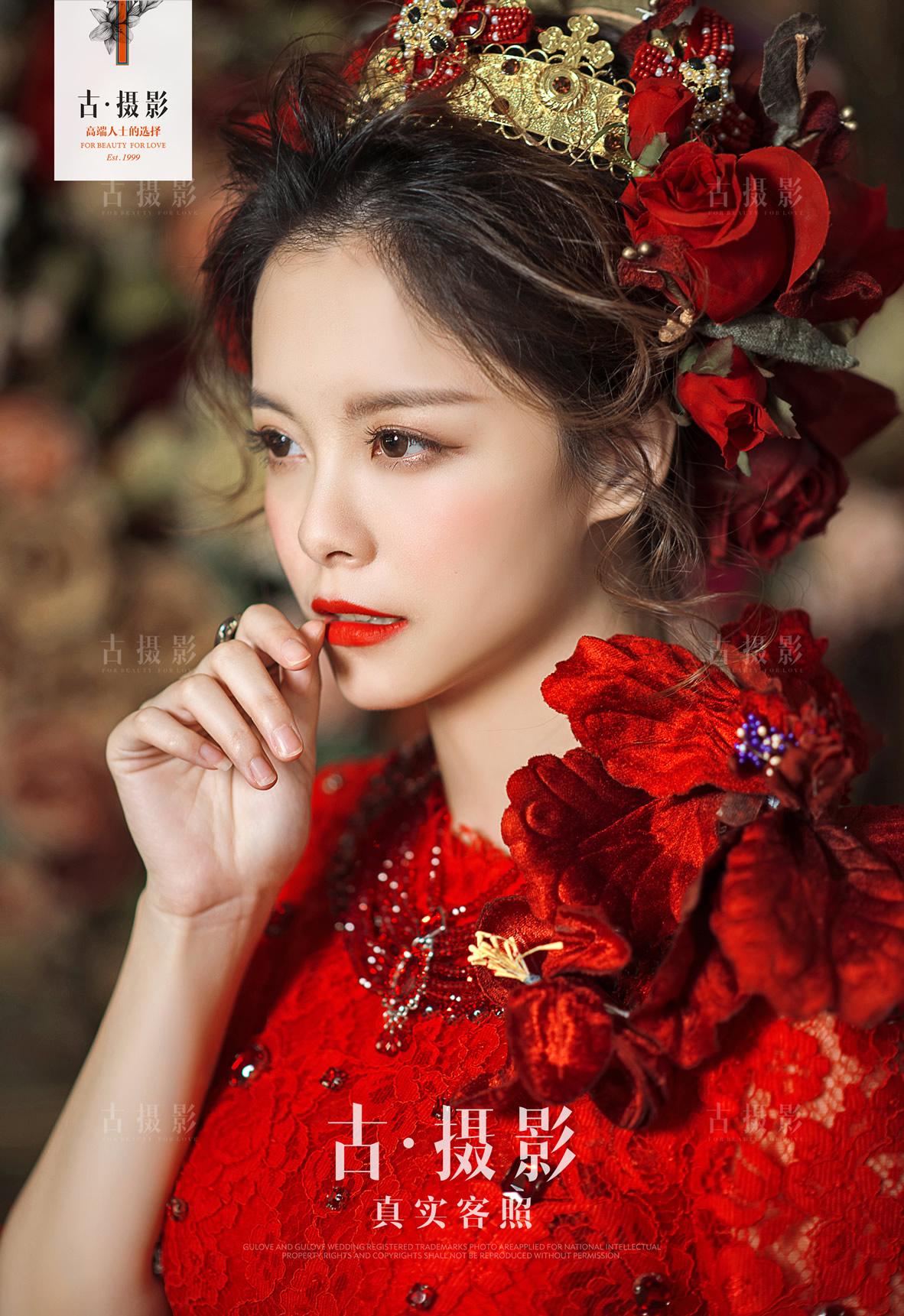 8月8日客片张先生 张小姐 - 每日客照 - love上海古摄影-上海婚纱摄影网