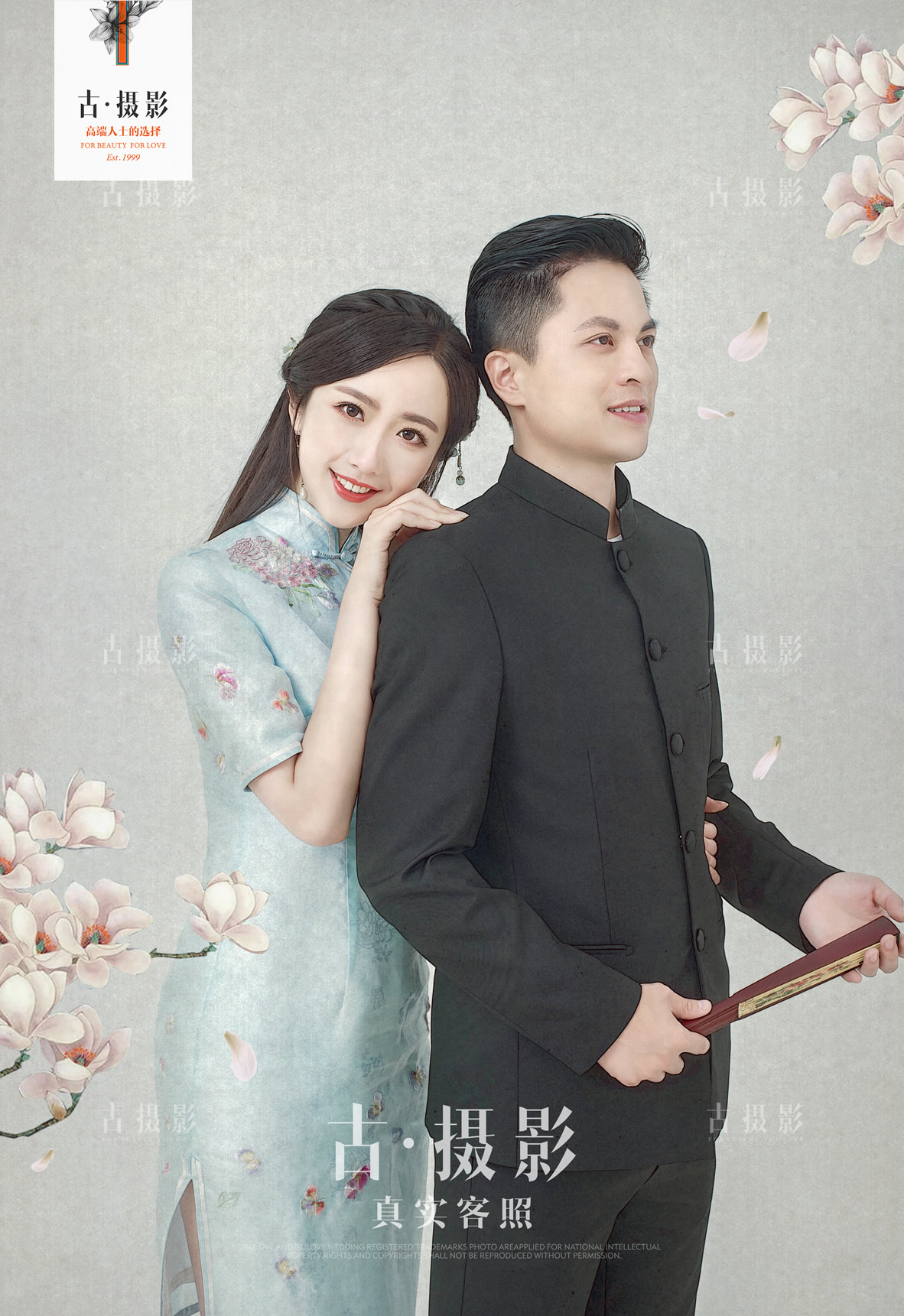 8月11日客片卢先生 曹小姐 - 每日客照 - love上海古摄影-上海婚纱摄影网
