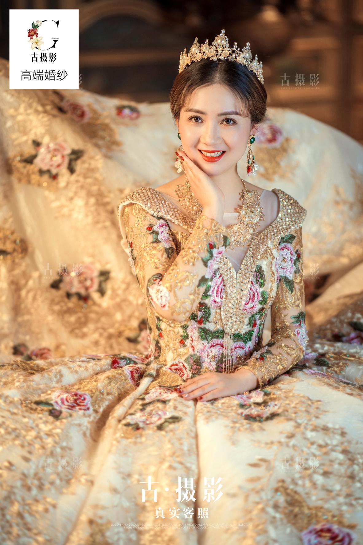 2月15日客片何先生 倪小姐 - 每日客照 - love上海古摄影-上海婚纱摄影网
