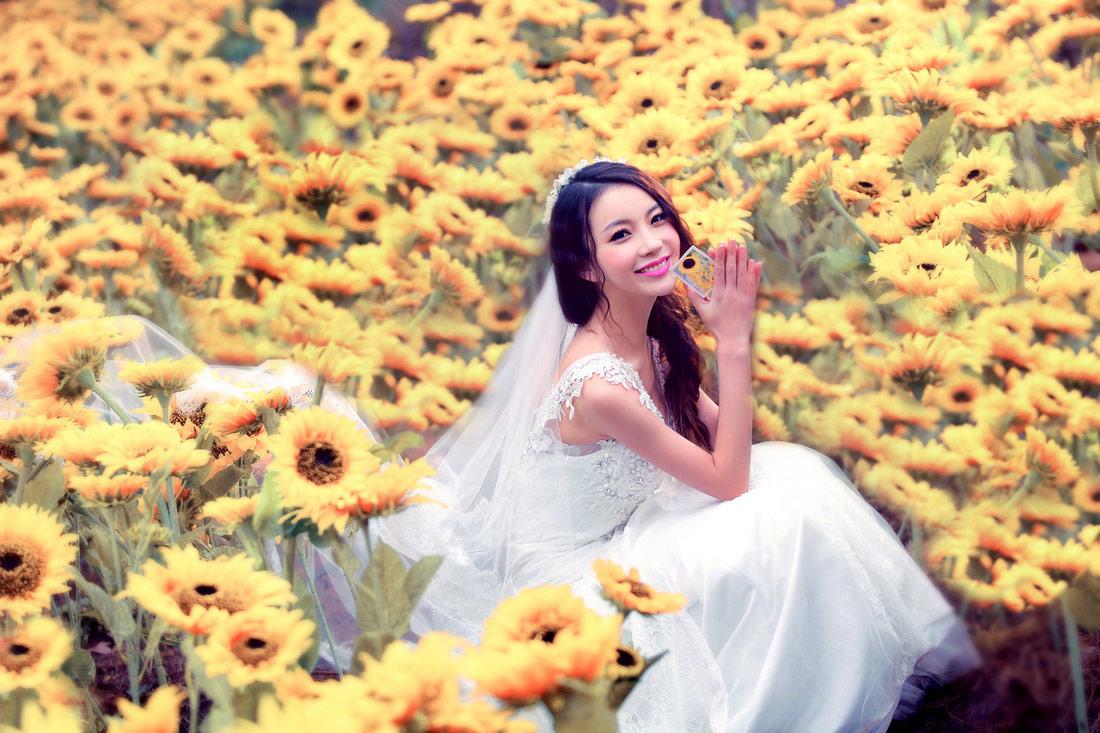 四季假日花田 - 拍摄地 - 武汉古摄影-武汉婚纱摄影艺术摄影网