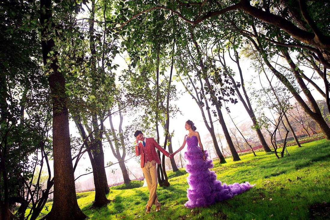 梦幻森林 - 拍摄地 - 武汉古摄影-武汉婚纱摄影艺术摄影网