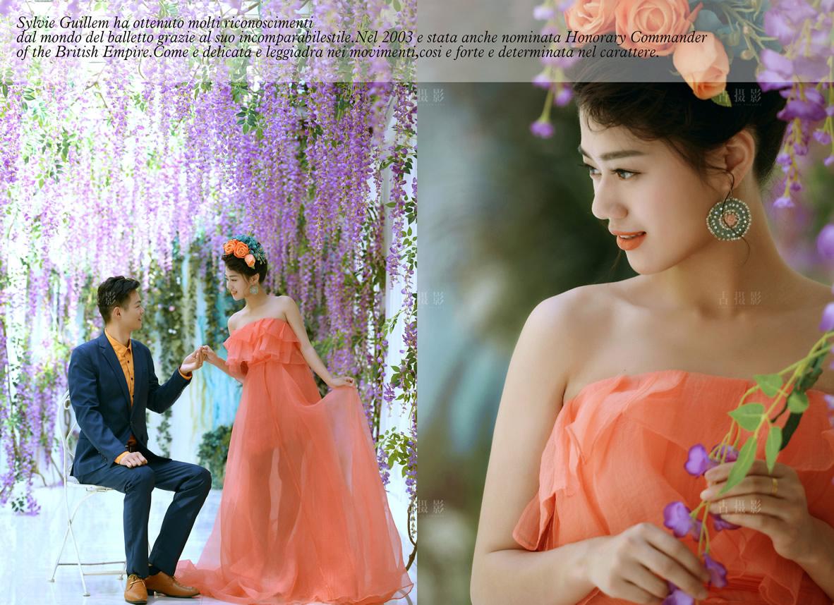 2月9日客片刘文杰 李磊 - 每日客照 - 武汉古摄影-武汉婚纱摄影艺术摄影网