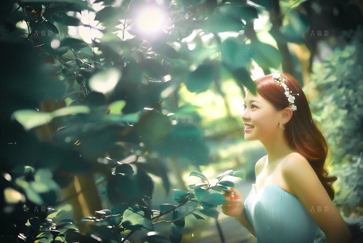 2月3日客片孙先生 杨小姐 - 每日客照 - 武汉古摄影-武汉婚纱摄影艺术摄影网