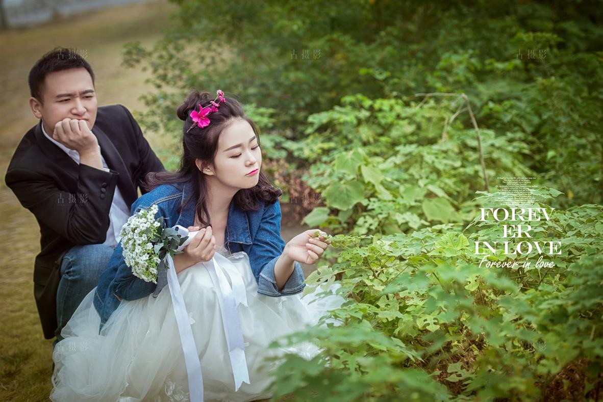 1月26日客片胡先生  刘小姐 - 每日客照 - 武汉古摄影-武汉婚纱摄影艺术摄影网